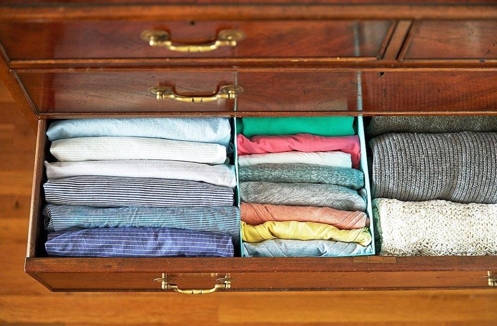Folding by Marie Kondo