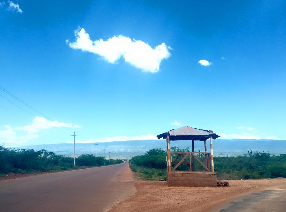 Road to Bahia de las Aquilas, Barahona