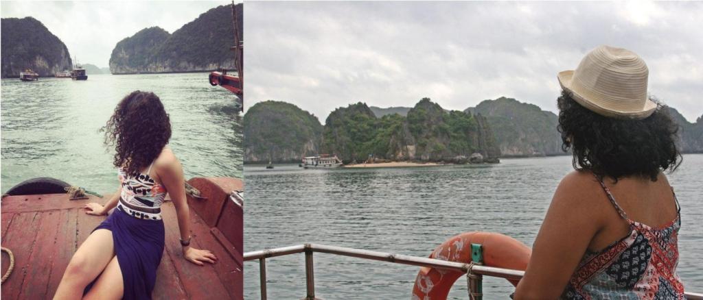 Junk Boat Vietnam 15 dollars Lan Ha Bay
