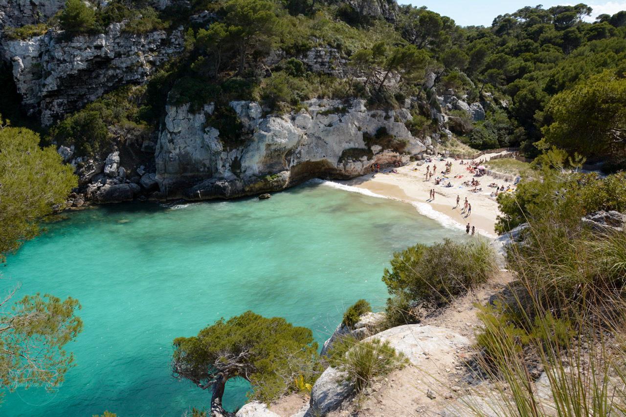 Cala Macarellata Playa, Menorca, Espana