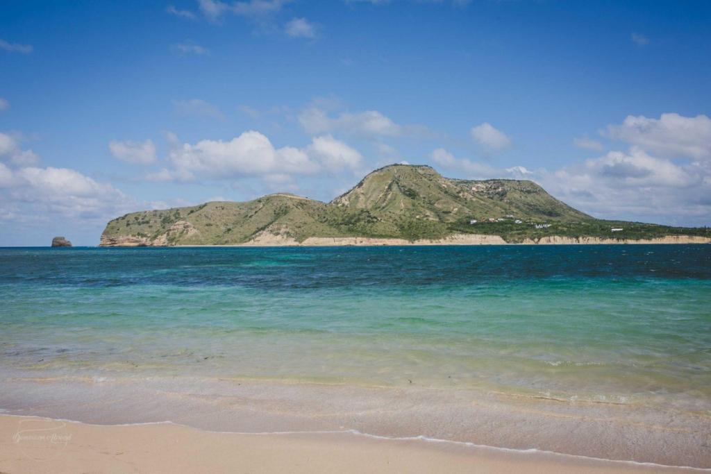 A view of Monte Cristi from Isla Cabra