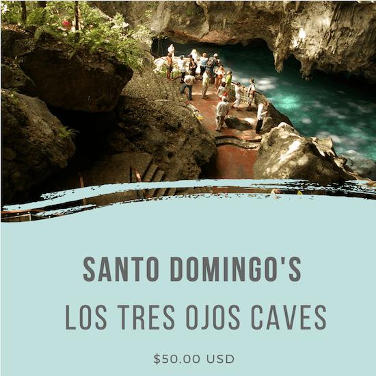 Santo Domingo's Los Tres Ojos Caves