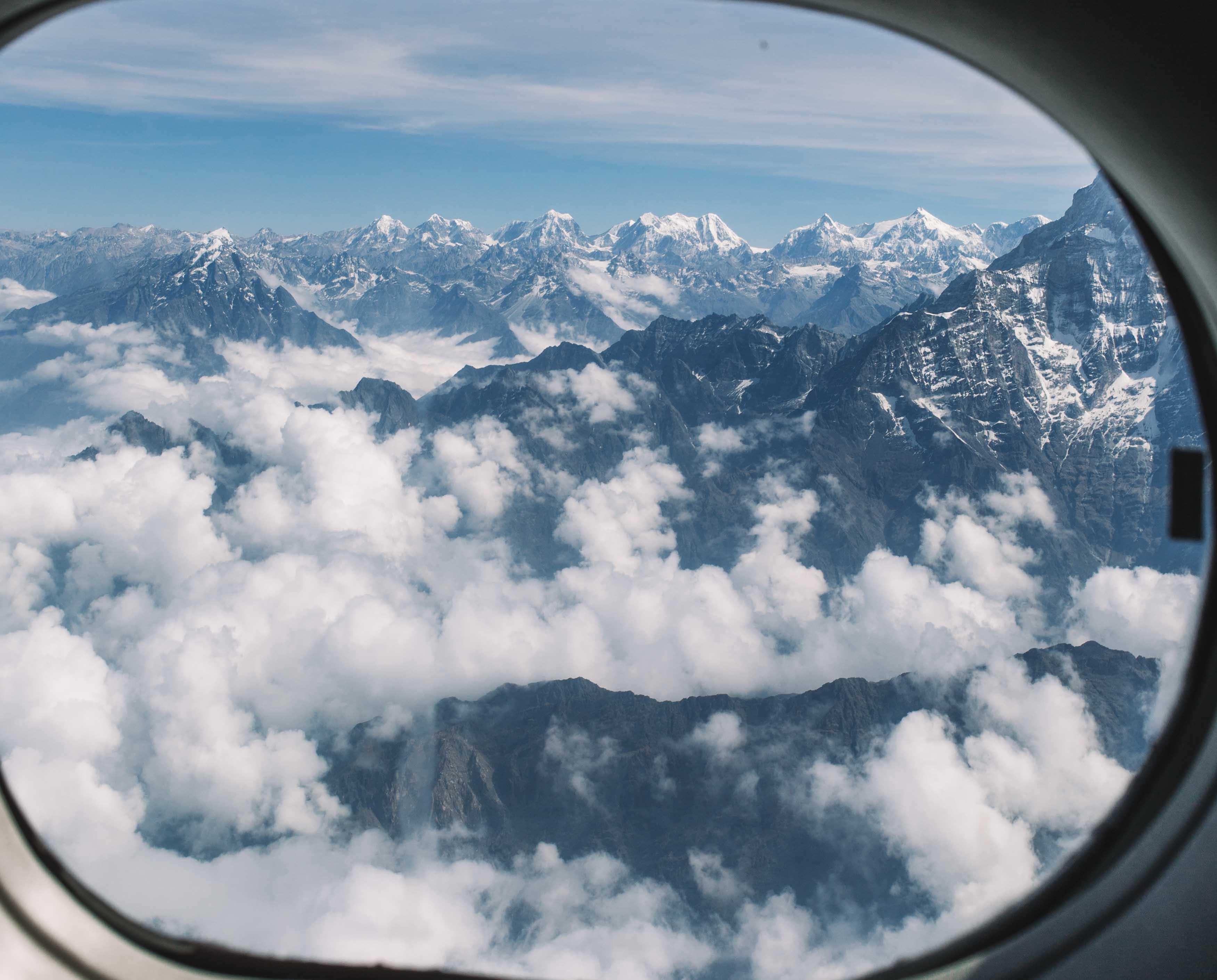 everest flight tour