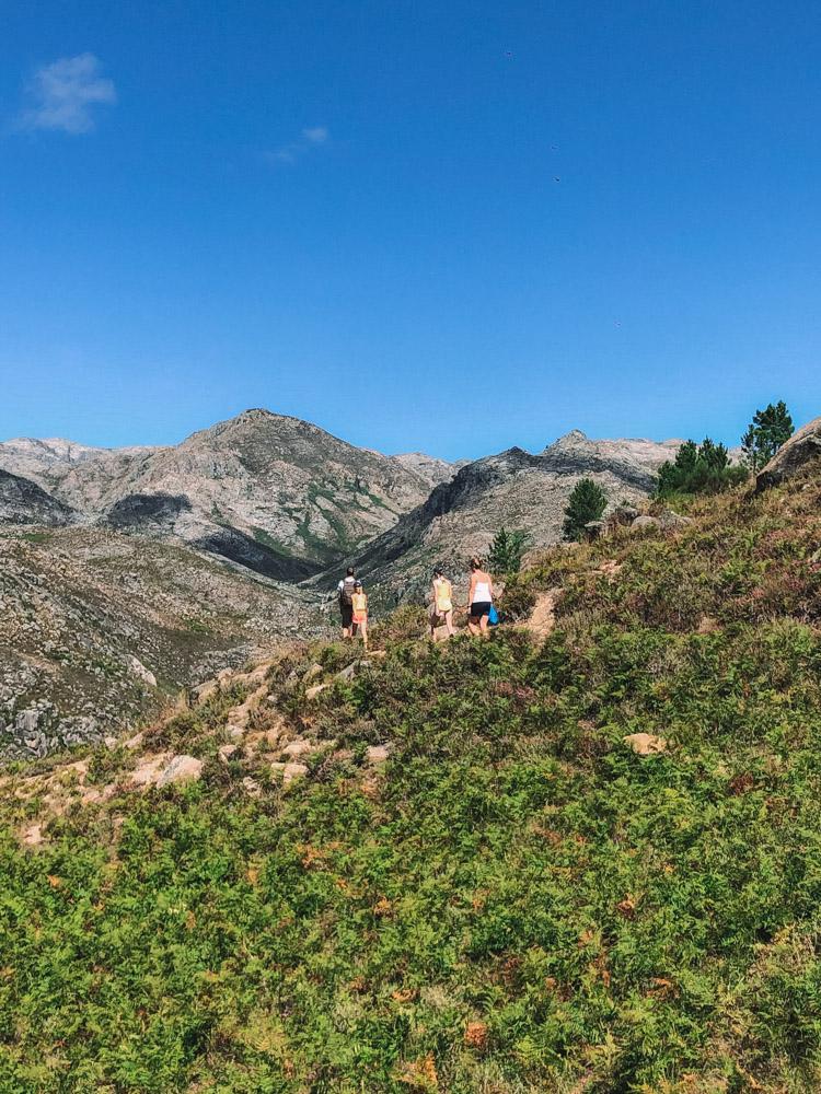 hiking geres park portugal